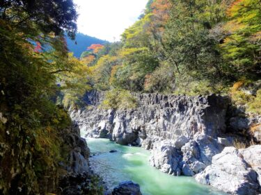 【Hiking Course Map】Hatonosu Valley – 鳩ノ巣渓谷ハイキングコース