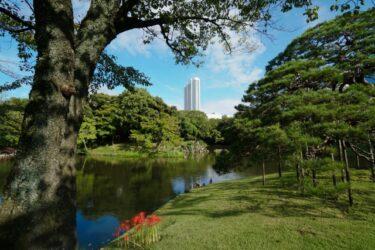 【Park & Garden Map】Koishikawa Korakuen Garden – 小石川後楽園